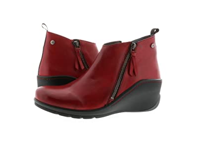 Wolky Sensation Anvik (Dark Red Savana Leather) Women