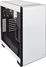 CORSAIR CARBIDE 400C Compact Mid-Tower Case, Window Side Panel - White