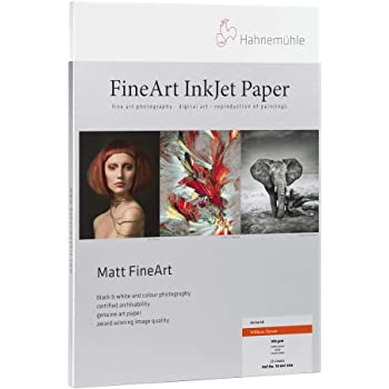 350 g//mA 8.5x11 22.0 mil. Natural White Watercolor Inkjet Paper Hahnemuhle Matte Museum Etching 20 Sheets 100/% Rag