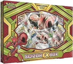 Pokemon Cards Pokscizorexbx Cards Pokémon TCG: Scizor-EX Box Game, Green