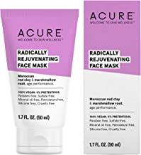 ACURE Radically Rejuvenating Face Mask | 100% Vegan | Provides Anti-Aging Support | Moroccan Red Clay & Marshmallow Root - Draws Out Imputities & Tones | 1.7 Fl Oz