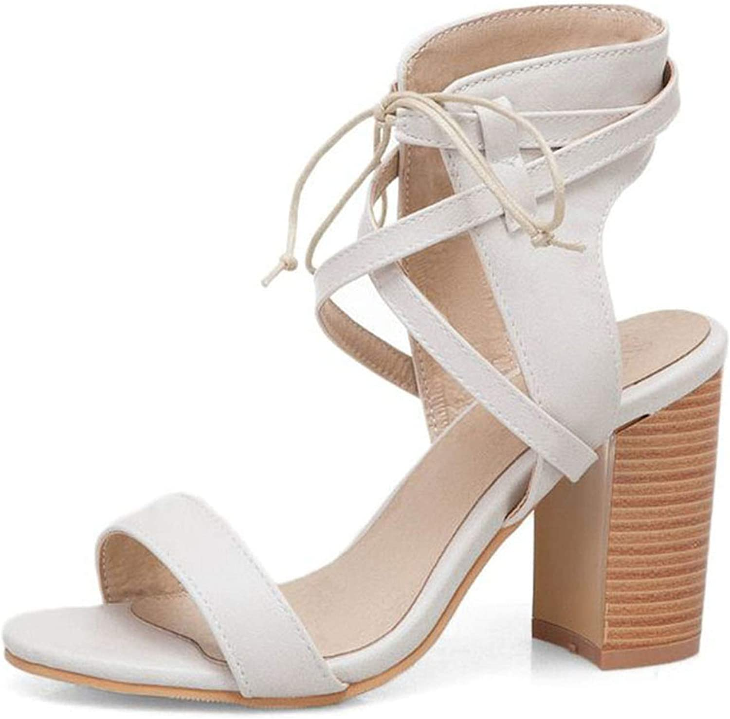 Fairly Gladiator High Heel Cross Strap Club Sexy Party shoes Daily,Beige,7