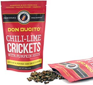 Don Bugito Planet-Friendly Edible Insect Protein Snacks (Chili-Lime Crickets)