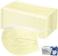 MaNMaNing Flexibel printen 3-laags Adult Outdoor Activity Protection Device Printing Geel