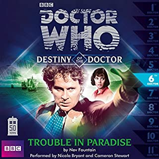 Doctor Who - Destiny of the Doctor - Trouble in Paradise cover art