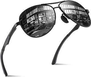 963ef57bd2 CGID GA61 Premium Al-Mg Pilot Polarized Sunglasses UV400 Mirror for Men  Women