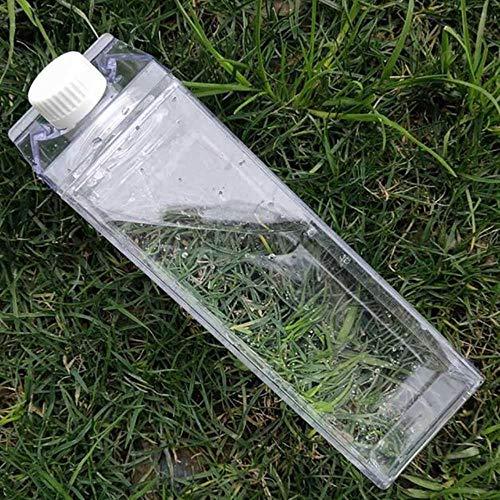 SPI Milch-, Wasserflasche, auslaufsicher, kreativ, transparent, plastik, 11, 500 ml