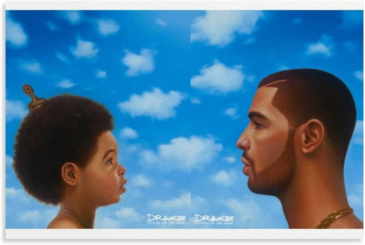 Selling rankings SHUAIGE Drake Nothing was The Ranking TOP15 Same Canvas Art Wall Poster Ar and