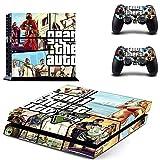 FENGLING Grand Theft Auto V GTA 5 Ps4 Piel Pegatina calcomanías Cubierta para Playstation 4 Ps4 Consola y Controlador Pieles Pegatinas Vinilo