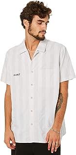 Misfit Men's Lilly Mens Shirt White