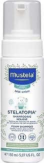Mustela, Stelatopia Shampooing Mousse 150 Ml , Schampo, Mångfärgad, U, Unisex-Vuxen