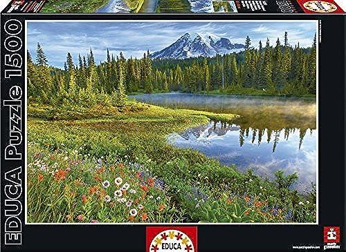 Ven a elegir tu propio estilo deportivo. Educa 16309Jigsaw Puzzle 1500Pieces-Mount Rainier National Park Park Park USA  venderse como panqueques