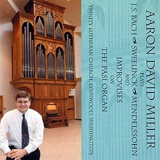 Plays & Improvises on the Pasi Organ by Miller, Aaron David (2008-04-01)
