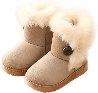 Girls Boots, Bunny Kid Boots Warm Winter Sequin Waterpoof Outdoor Snow Boots (Toddler/Little Kids)