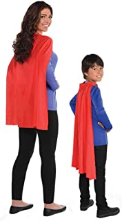 Amscan Super Hero Cape, Red