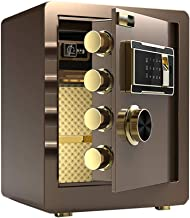 Home Safe Box Office Digital Cabinet Safe Wall Mounted/Floor Electronic Password Safe for Jewelry Money Documents A4 Docum...