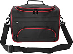 Hairdressing Tool Kit, Fashion Avant-garde Large Capacity Pro Hairdressing Hair Equipment Salon Tool Carrying Bag Travel Storage Case Bag (Black)