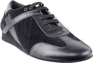 Men's Ballroom Latin Salsa Sneaker Dance Shoes Leather SERO106BBXEB Comfortable - Very Fine (Bundle of 5)