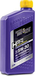 Royal Purple 32530 HPS 5W-30 High Performance Street Synthetic Motor Oil with Synerlec - 1 qt. (Case of 12)