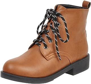 RAZAMAZA Women Causal Autumn Short Boots Comfortable Flat