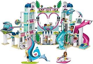 子供のビルディングブロックのおもちゃ、ビルディングブロックのスペルの早期教育玩具、良い友達の心レイクシティリゾート7から12歳の女の子のおもちゃ