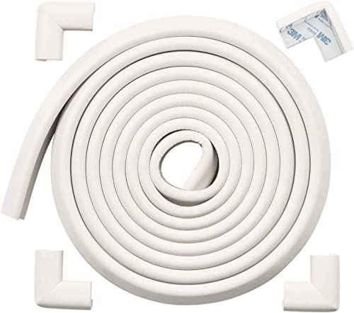 Baby Proofing Corner Guards Edge Protectors, ROVING COVE Child Safety Foam Fireplace Table Bumper, 3M Pre-Taped Corne...