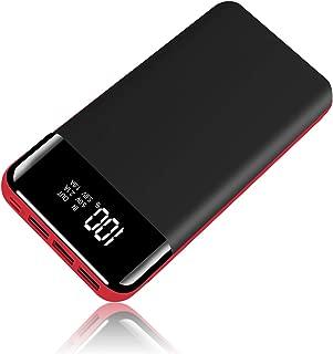 モバイルバッテリー 超大容量 25000mAh PSE認証済 LED残量表示 2種類入力ポート(MICRO USB/lighting USB) 3つ入力ポート付き 3台同時充電され 持ち運び充電器 出張/地震/災害/アウトドアなどの必携品
