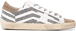 Golden Goose Luxury Fashion Womens G35WS590R76 Silver Sneakers | Fall Winter 19