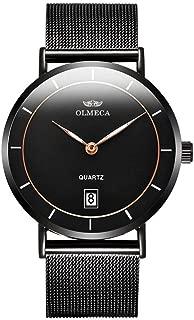 OLMECA Women's Watches Fashion Simple Watches Ultra Thin Wristwatches Waterproof Quartz Women Watches Watch for Women 0872