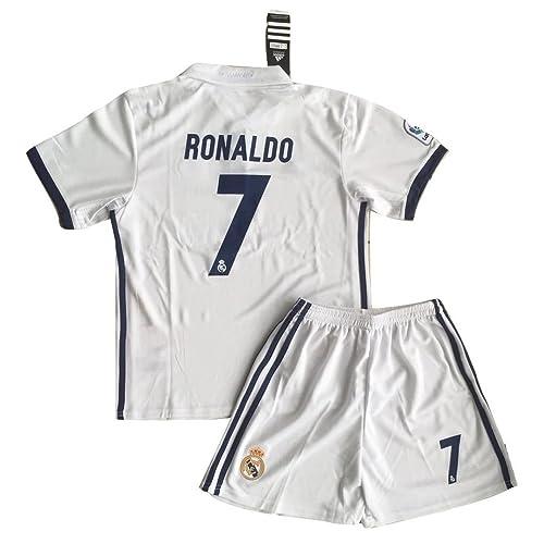the latest 1d43b bdd06 Ronaldo Jersey Youth: Amazon.com