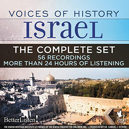 Voices of History Israel: The Complete Set cover art