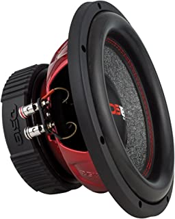DS18 GEN-X104D Subwoofer in Black - 4 Layer Black Aluminum Voice Coil, 10', 800W Max Power, 400W RMS, Dual 4 Ohms, DVC - Powerful Car Audio Bass Speaker (1 Speaker)