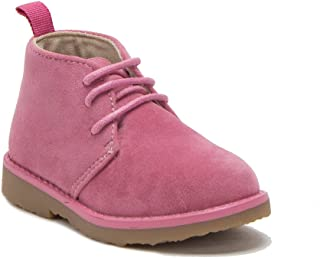 Little Toddler Girls I-502 Ankle High Desert Suede Round Toe Casual Chukka Boots
