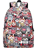 Best IDS 3d Backpacks - Backpack for Teens, Fashion Cartoon Ghosts Patterns Laptop Review