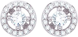 Izaara 92.5 Sterling Silver Stud Earrings For Women & Girls Latest Design Classy For Party Occasional or Daily Wear