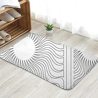 Cool pillow Set Decorative Card Cutting Laser Plotter The Arts Abstract Fun Welcome Doormat Personalized Indoor Floor Mats Living Room Bedroom Bathroom Door Mat 23.6 X 15.8 Inch