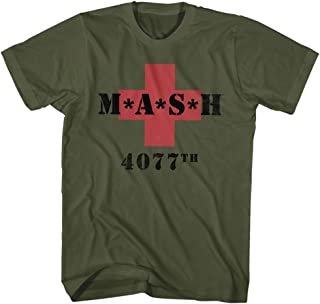 Mash Men's M.A.S.H. 4077th Red Cross T-Shirt