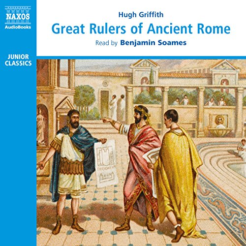 Great Rulers of Ancient Rome audiobook cover art