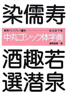 中丸ゴシック体字典 (書体とPOPのベスト50―ゴシック体)