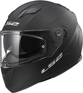 LS2 Helmets Full Face Stream Street Helmet (Matte Black - Medium)