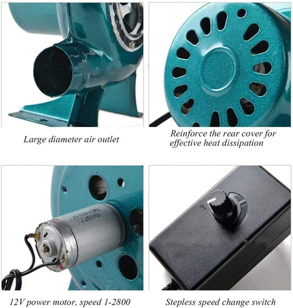 Barbecues Blower Coal Forge Blower SANJIANG 220V Variable Speed Electric Blower For BBQ Fireplace Fan Cooking Tool,30W