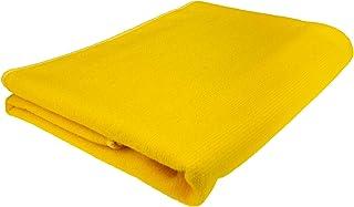 Microvezel badhanddoek - geel - 70 x 140 cm (B x L) - absorberend en sneldrogend - zeer licht - ideaal als reishanddoek, s...