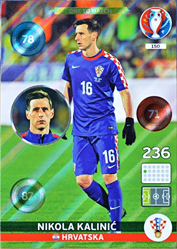 carte PANINI EURO 2016 #150 Nikola Kalinic