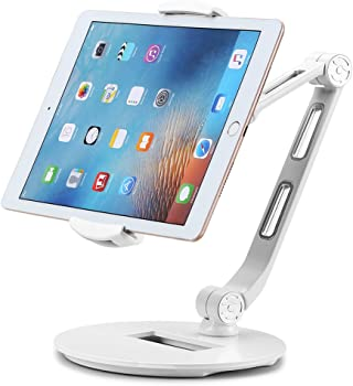 Suptek Aluminum Tablet Desk Stand for iPad, iPhone, Samsung, Asus