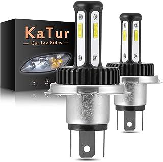 CCAUTOVIE Ampoules LED pour Feux de Brouillard de Voiture H3 9003 DRL 80W 6000K Blanc