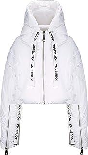 KHRISJOY Luxury Fashion Womens AFPW004NYWH01 White Down Jacket | Fall Winter 19