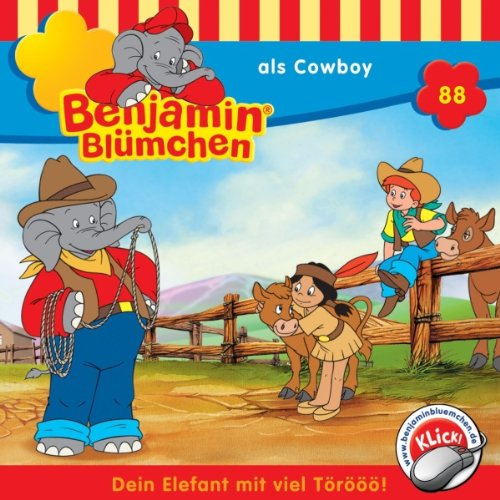 Benjamin als Cowboy audiobook cover art