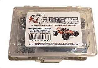 RCScrewZ Traxxas Rustler VXL TSM Ed. Stainless Steel Screw Kit  tra066  For Traxxas Kit (37076-3/67076-3)