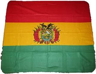 AES Bolivia Bolivian Flag 50x60 Polar Fleece Blanket Throw