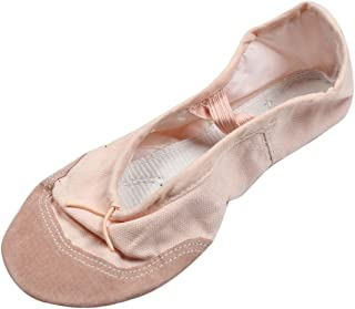 uxcell® Lady Peachpuff Elastic Bands Flat Ballet Dancing Shoes UK Size 2